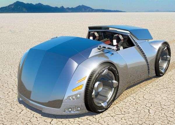 Futuristic Windowless Vehicles