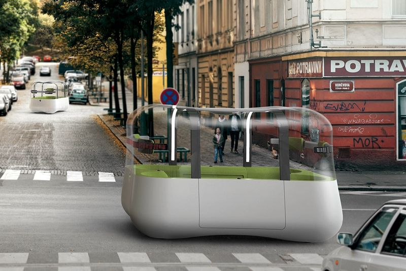 Connected Cubic Transportation Solutions : autonomous android vehicle