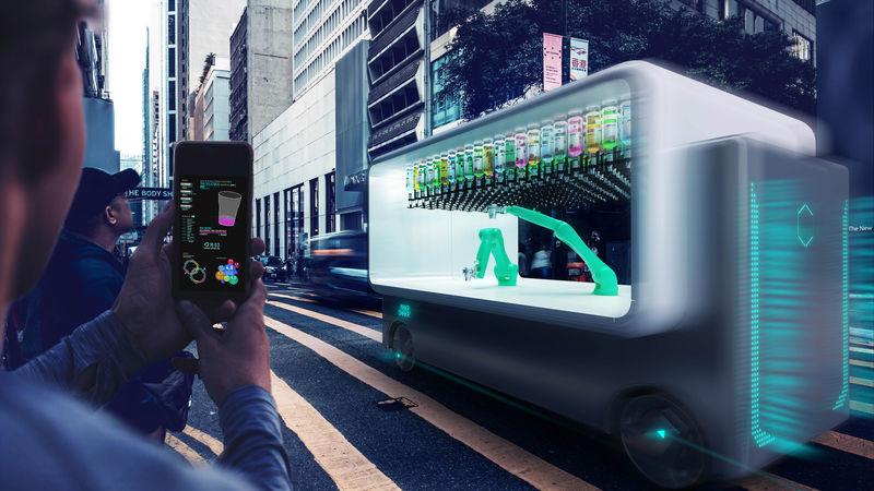 Mobile Robotic Bars