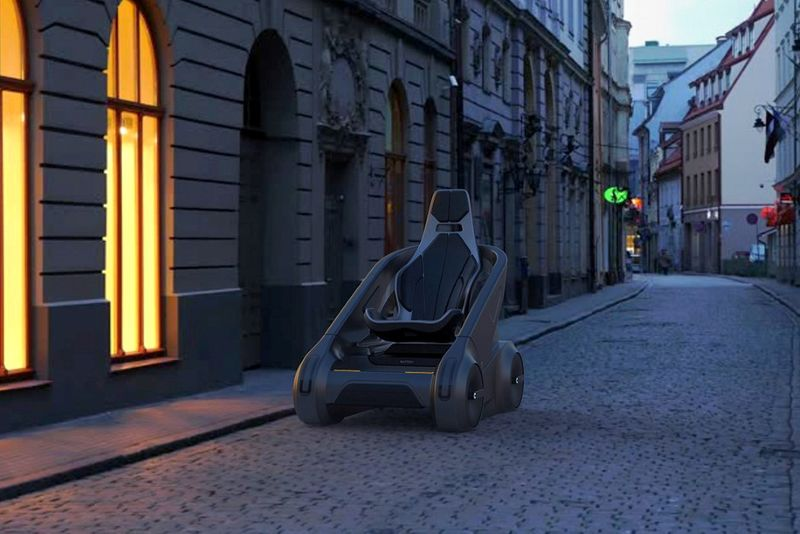 Single-Seater Electric Vehicles