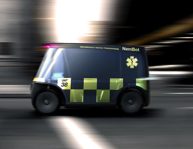 Futuristic Healthcare Vehicles