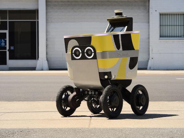 Autonomous Delivery Robot Designs