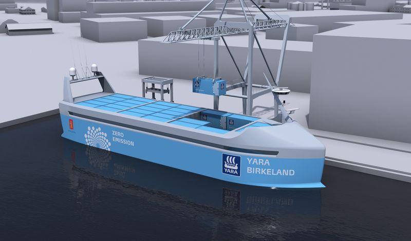 Zero Emissions Cargo Ships