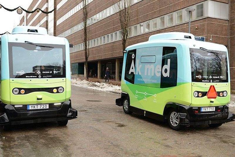 Autonomous Shuttle Buses