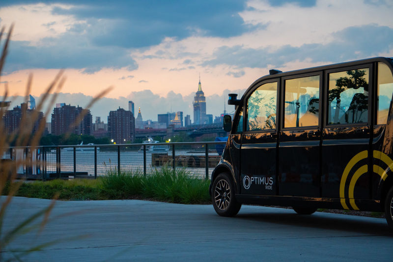 Self-Driving Shuttle Launches