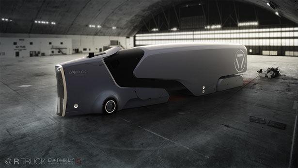 AI-Controlled Autonomous Trucks : autonomous truck
