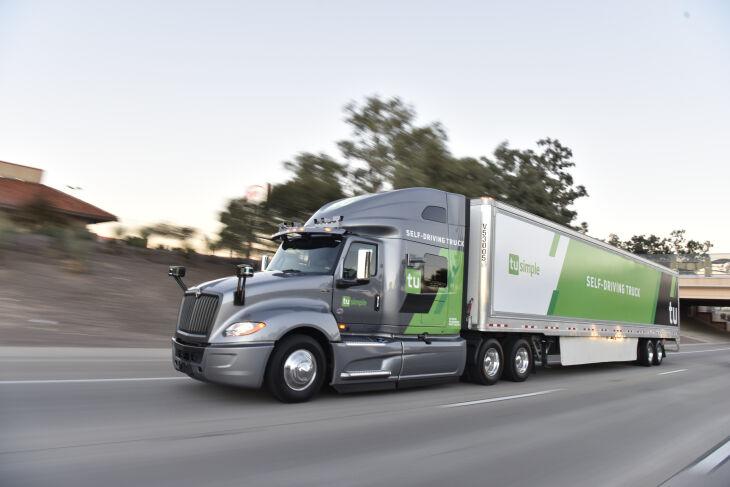 Autonomous Trucking Networks
