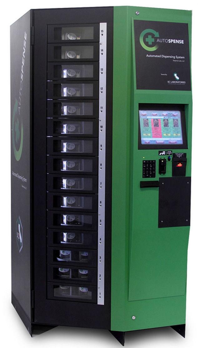 Marijuana Vending Machines