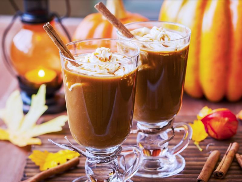 DIY Caffeinated Pumpkin Cocktails