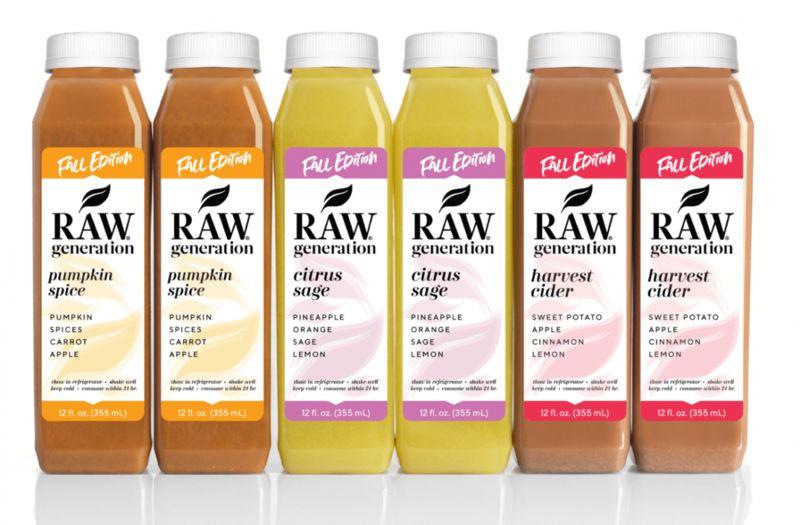 Plant-Based Autumnal Beverages
