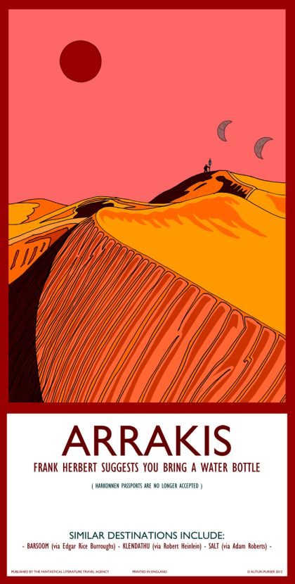 Fantasy Travel Posters