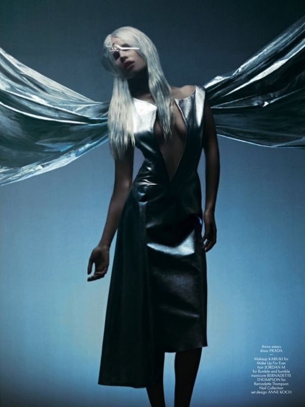 Angelic Avant-Garde Editorials