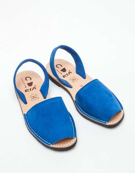 Royal Blue Spanish Sandals