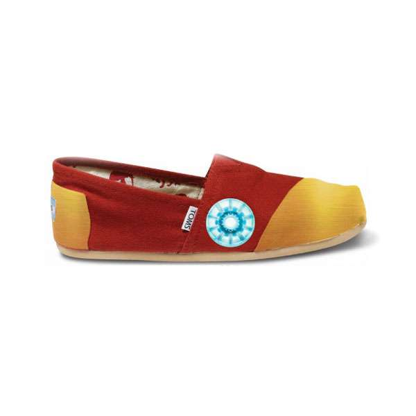 Stylish Superhero Slip-Ons