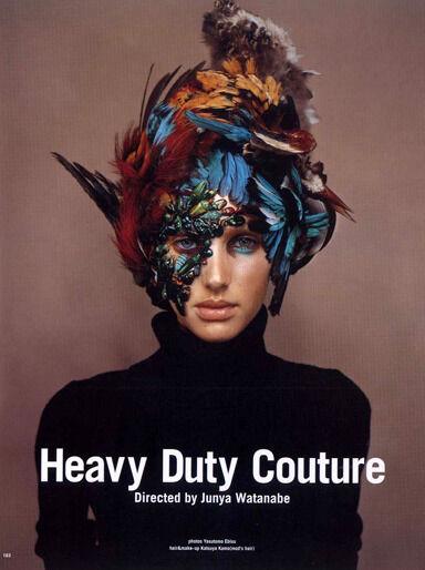 Avian-Inspired Headwear