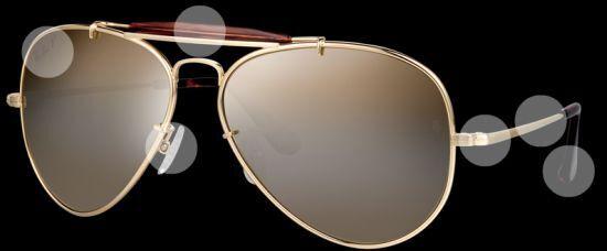 36ef0c11e8dc9 Limited Edition Aviators  22 Karat Gold Ray-Ban Ultra to Mark 20th ...