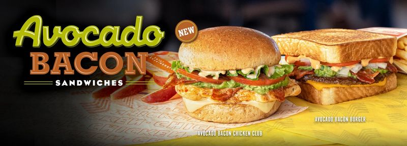 Avocado-Topped Chicken Clubs