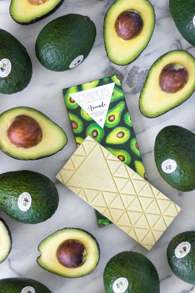 Avocado Chocolate Bars