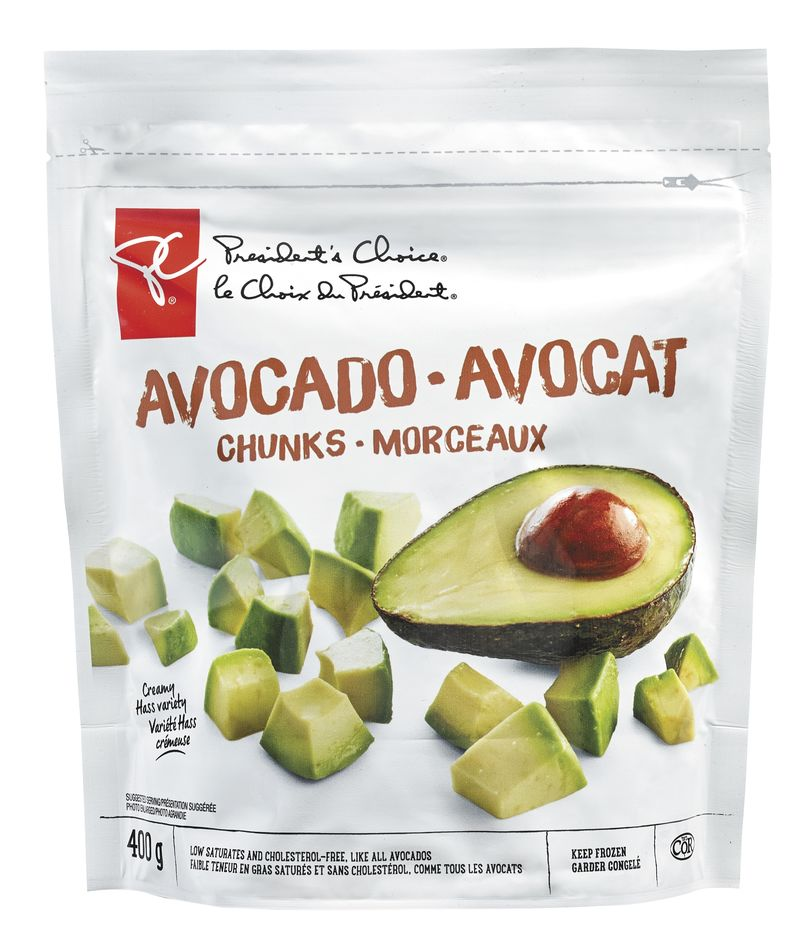 Pre-Sliced Avocado Snacks