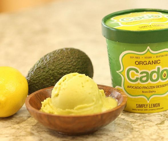 Avocado-Based Ice Cream