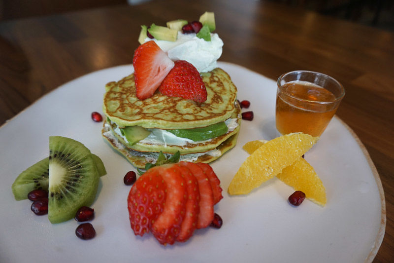 Avocado-Infused Pancakes