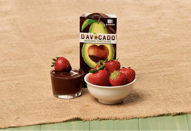 Chocolatey Avocado Puddings