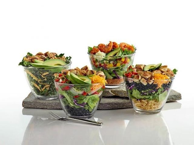 Multi-Layered Avocado Salads