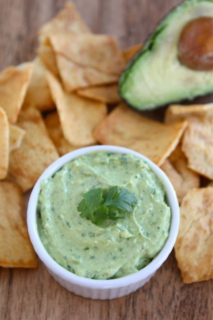 Avocado Yogurt Dips