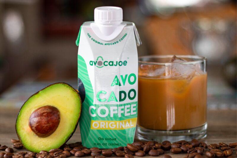 Caffeinated Avocado Beverages
