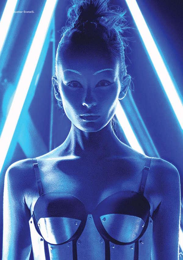Illuminated Sci-Fi Editorials