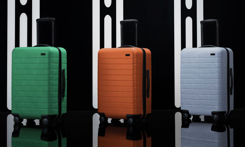 Demure Science Fiction Suitcases