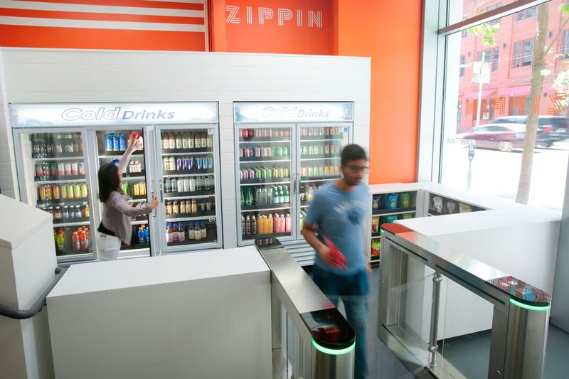 Contactless Shop-In-Shops