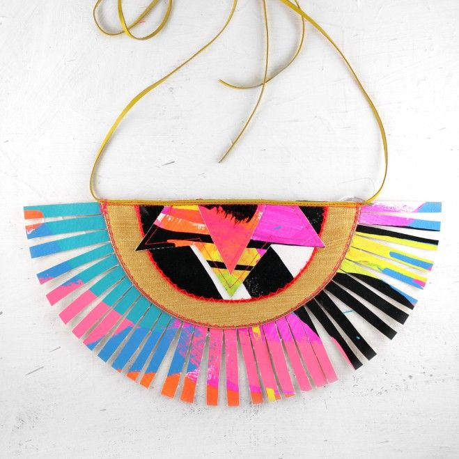 Electric-Hued Tribal Jewelry