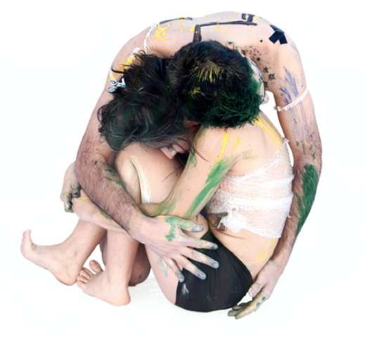 Paint-Covered Coupletography