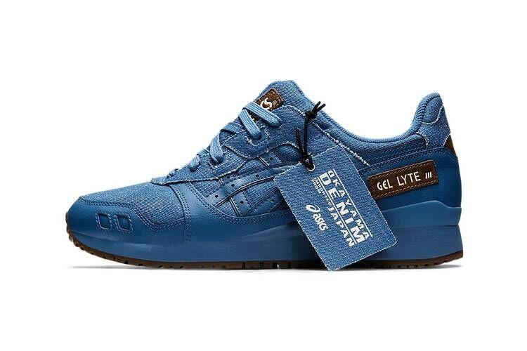 Selvege Denim Blue Sneakers