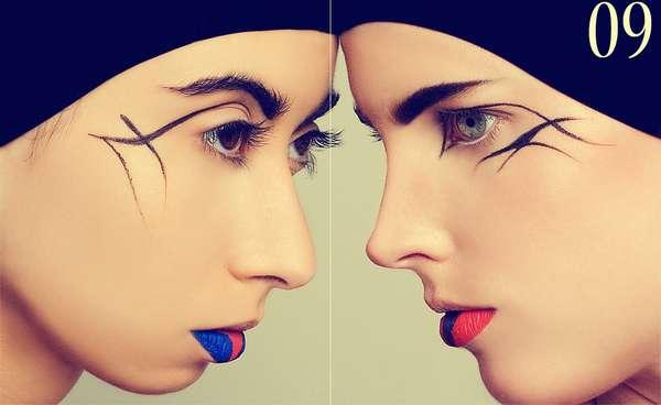Notched Lipstick