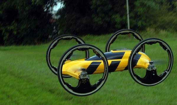 QuadCopter Remote-Controlled Cars