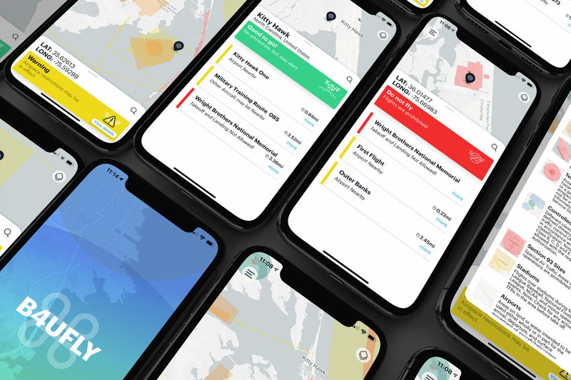 Drone Air Restriction Apps
