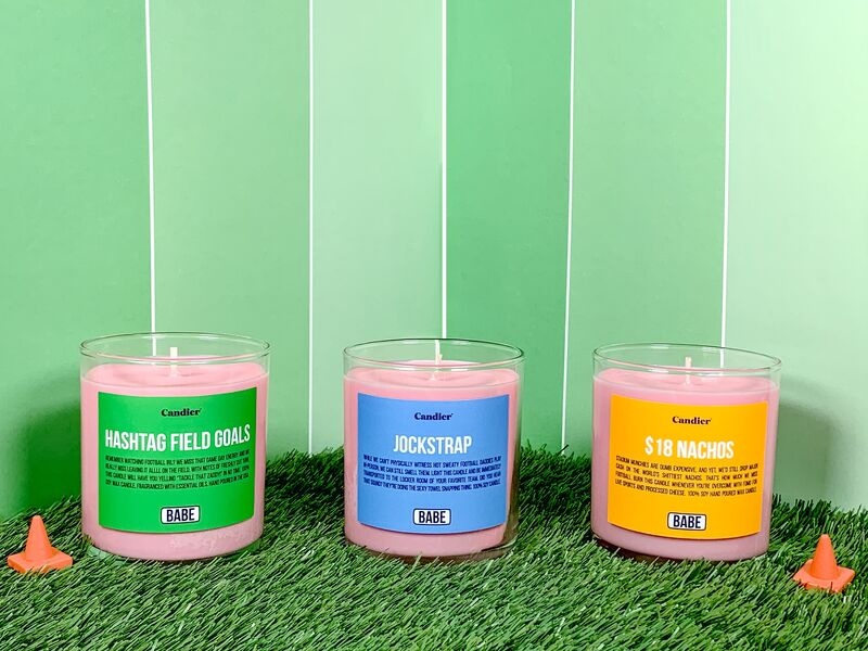 Jockstrap-Scented Candles