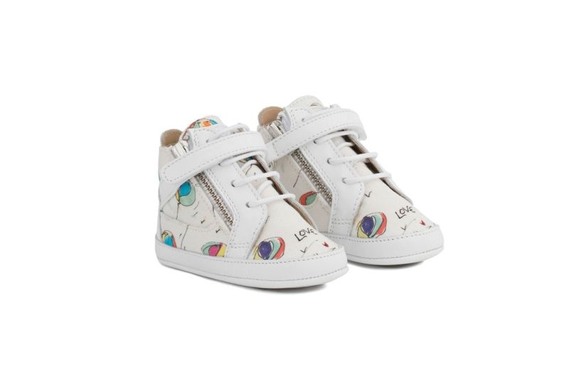 Luxurious Italian Baby Sneakers