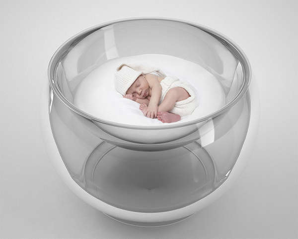 Bubble-Inspired Baby Beds (UPDATE)