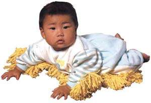 Toddlers as Mops