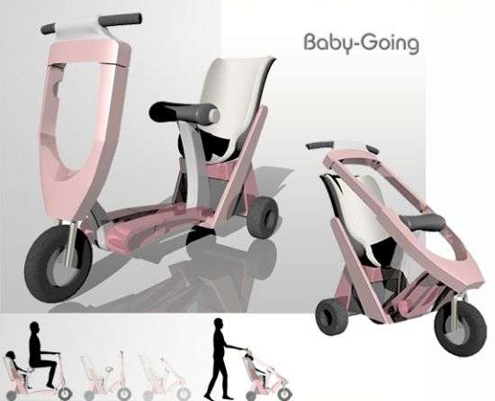 Hybrid Scooter-Strollers