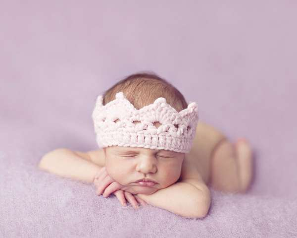 Cute Crochet Baby Crowns