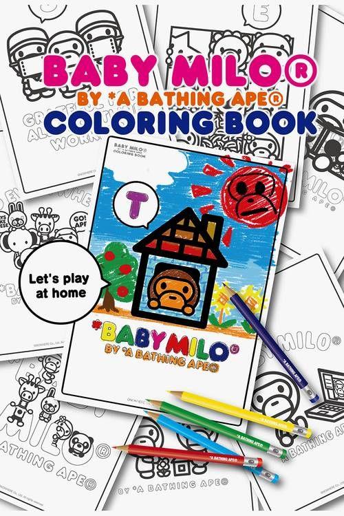 Streetwear Motif-Themed Coloring Books