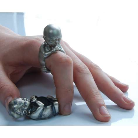Silver Fetus Accessories