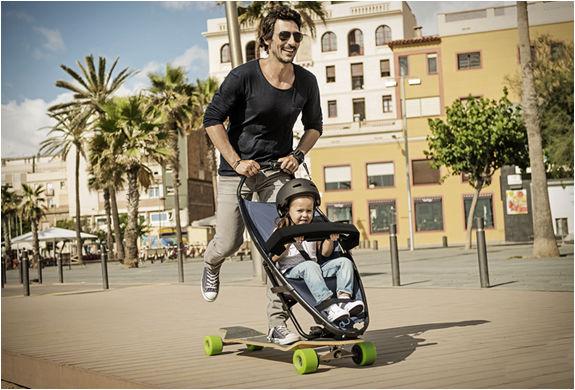 Adventurous Longboard Strollers Baby Stroller