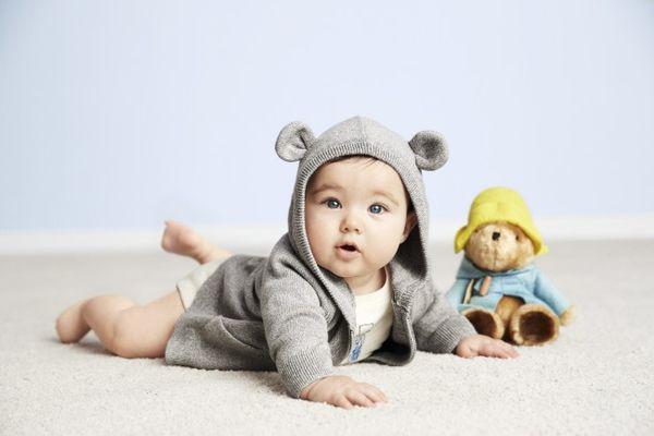 Cartoon Bear Baby Wear