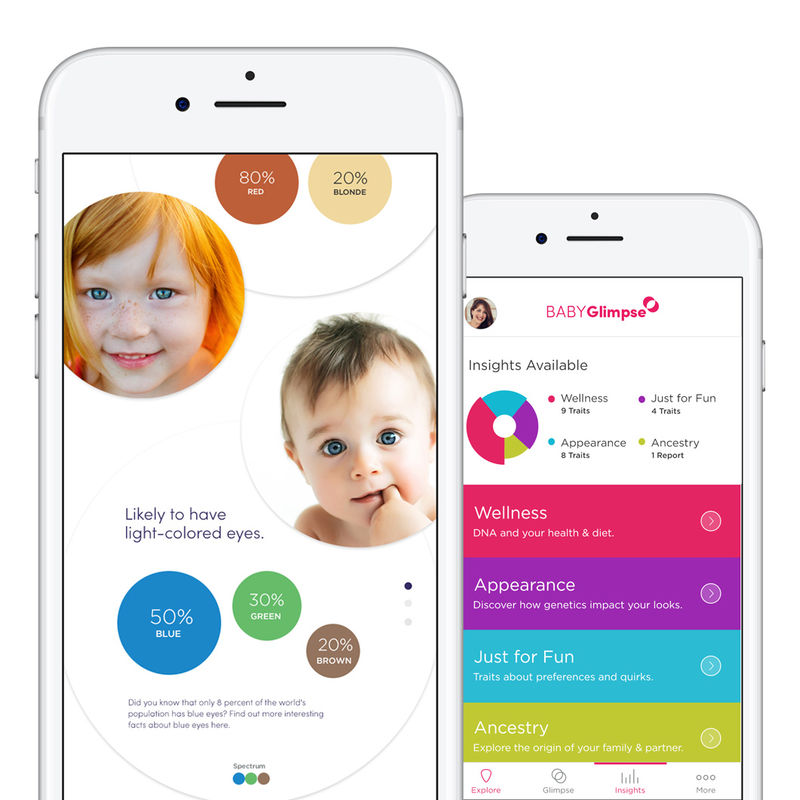 Genetic Trait-Tracking Apps