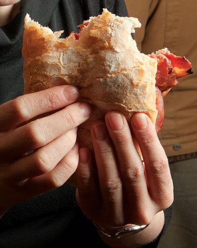 British Bacon Sandwiches
